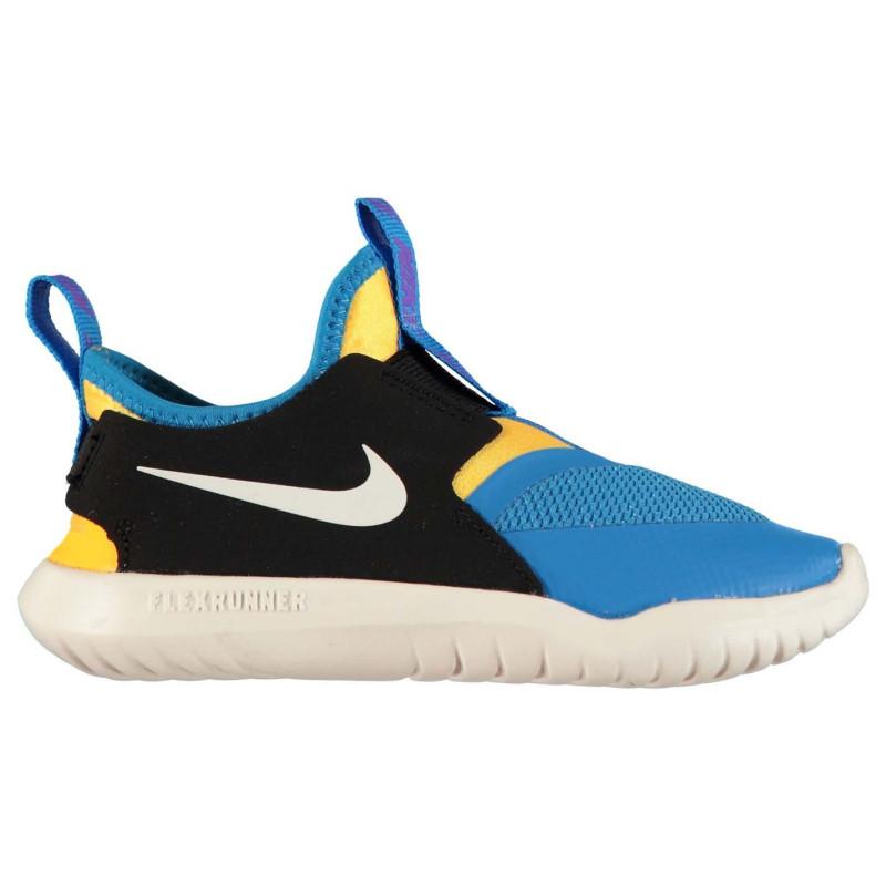 32605949a59 Nike Маратонки За Бягане Flex Runner Trainers Blue/Wht/Orng Детски маратонки