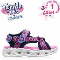 Skechers Savvy Light Up Sandals Infant Girls  Детски сандали и джапанки