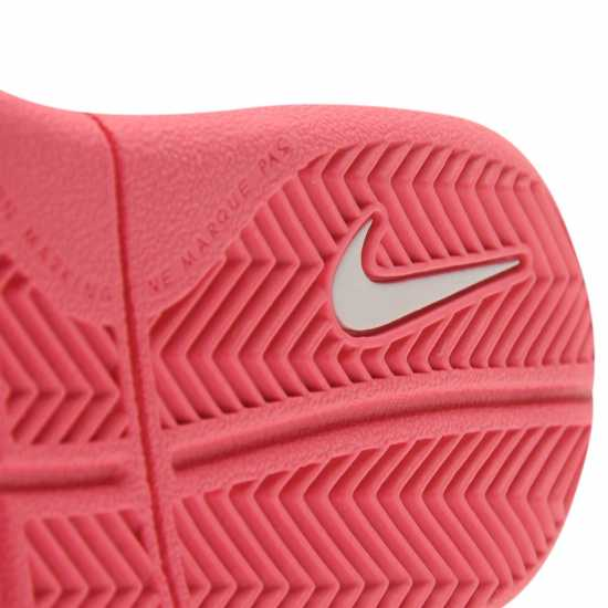 Nike Маратонки За Малко Момиченце Pico 4 Infant Girls Trainers White/Pink Бебешки обувки и маратонки