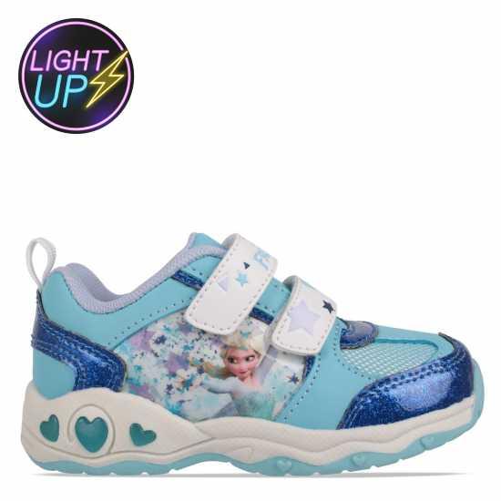 29e2791e4d5 Character Детски Светещи Маратонки Light Up Infants Trainers Disney Frozen  Бебешки обувки и маратонки
