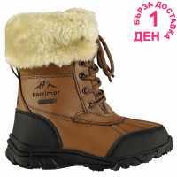 Karrimor Детски Ботуши За Сняг Casual Childrens Snow Boots Tan Детски апрески