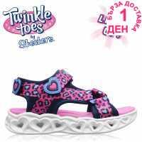 Skechers Savvy Light Up Sandals Child Girls  Детски сандали и джапанки