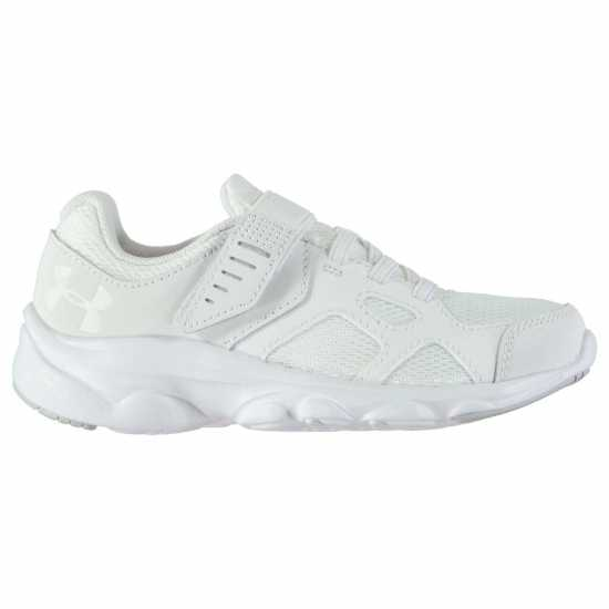 Under Armour Pace Running Shoes Child Boys White Детски маратонки
