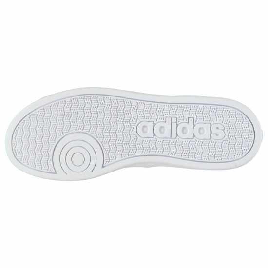 Adidas Детски Маратонки Момчета Advantage Clean Child Boys Trainers White/Green Детски маратонки