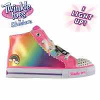 Skechers Twinkle Toes Party Infant Girls Multi Бебешки обувки и маратонки