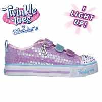 Skechers Twinkle Mm Grl00 Purple/Multi Детски платненки и гуменки
