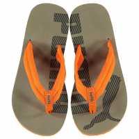 Puma Джапанки Epic V2Ps Flip Flops Childrens Grey/Orange Детски сандали и джапанки