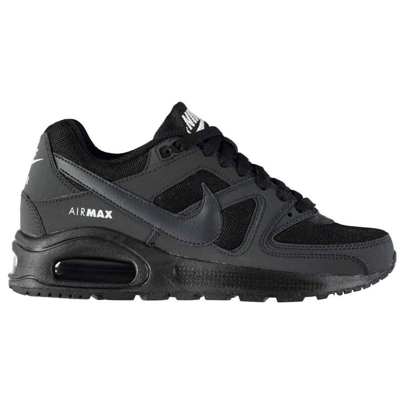 grande vente 608d3 b13db Nike Air Max Command Trainers Junior Boys Black/Anthrac - Детски маратонки