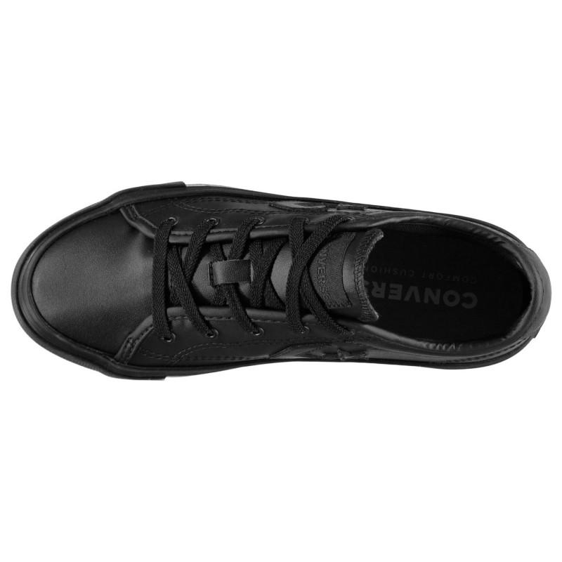 Converse Ox Replay Trainers Black Mono ?????? ????????? ? ???????