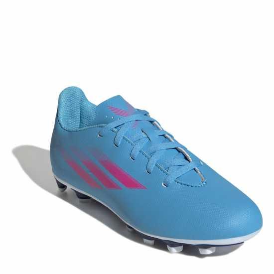 Adidas Детски Маратонки Изкуствена Трева X 18.3 Tango Childrens Astro Turf Trainers Blue/Yellow/Blk Футболни стоножки