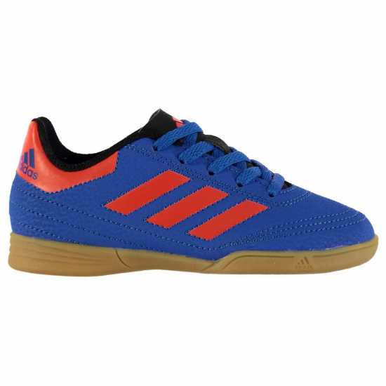 Adidas Goletto Indoor Football Boots Child Boys Shock Blue Детски футболни бутонки