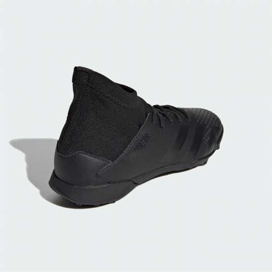 Adidas Детски Маратонки Изкуствен Терен Predator 20.3 Junior Astro Turf Trainers Black/Black Футболни стоножки