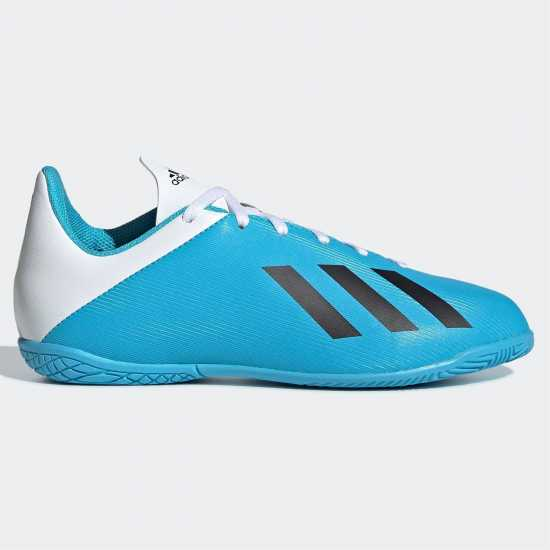 Adidas Детски Маратонки Футбол В Зала X 19.4 Junior Indoor Football Trainers  Детски футболни бутонки