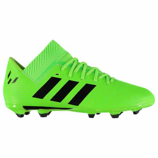 Adidas Nemeziz Messi 18.3 Junior Fg Football Boots SolarGreen/Blk Детски футболни бутонки
