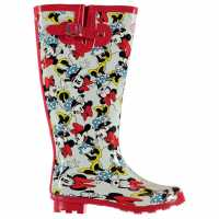 Character Wellies Unisex Juniors Disney Minnie Детски гумени ботуши
