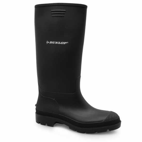 Dunlop Junior Wellingtons Black Детски туристически обувки