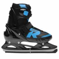 Roces Jockey Ice Sk Jn91 Black/Blue Кънки за лед