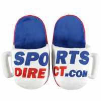 Sportsdirect Mug Slippers White/Red Подаръци и играчки