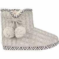 Soulcal Pom Pom Slippers Ladies  Чехли