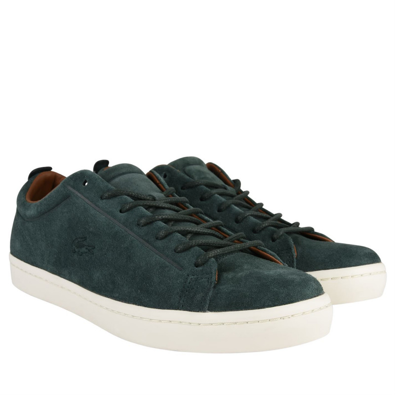 625eeb24535 Lacoste Straightset Suede Trainers Green Мъжки маратонки
