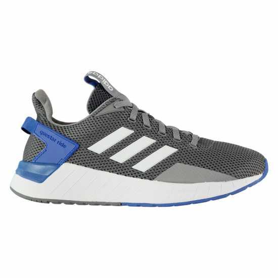 Adidas Questar Ride Shoe Mens Grey/Wht/Blue Мъжки маратонки