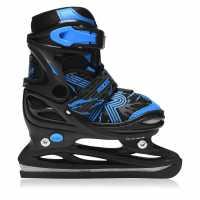 Roces Jockey Ice Skates Junior Boys Black Astro B Кънки за лед