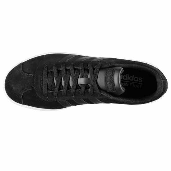 Adidas Vl Court Suede Shoes Mens Blk/Blk/Wht Мъжки маратонки