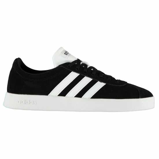 Adidas Vl Court 2 Suede Shoes Mens Black/White Мъжки маратонки