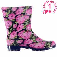 Rock And Rags Floral Welly Lds 74 Floral Дамски гумени ботуши