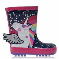 Character Child Girls Wellington Boots  Детски гумени ботуши