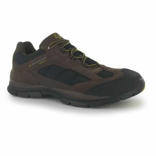 Dunlop Мъжки Работни Обувки Safety Iowa Mens Safety Shoes Brown Работни обувки
