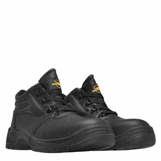 Мъжки Работни Обувки Dunlop Street Safety Boots Mens Black Мъжки боти и ботуши