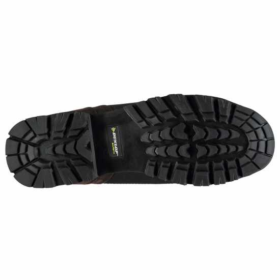 Мъжки Работни Обувки Dunlop Street Safety Boots Mens Brown Мъжки боти и ботуши