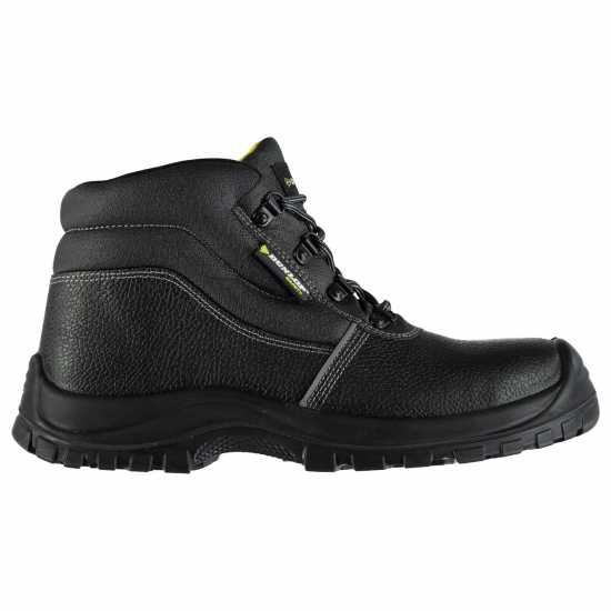 Dunlop Мъжки Работни Обувки North Carolina Safety Boots Mens Black Мъжки боти и ботуши