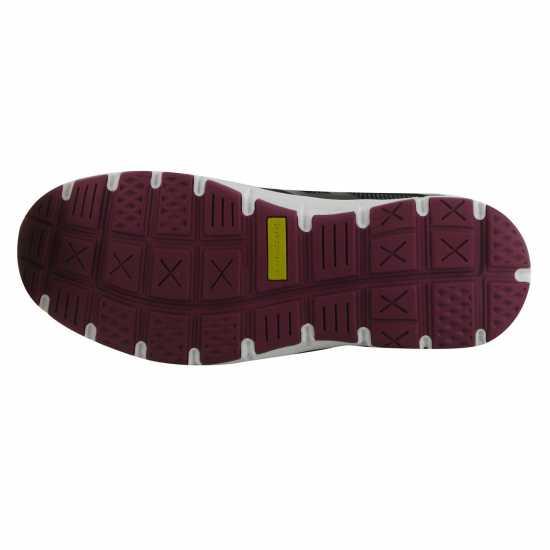 Dunlop Дамски Защитни Обувки Maine Ladies Safety Shoes Black/Fuscia Мъжки работни обувки