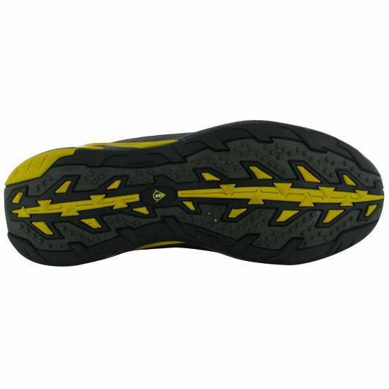 Dunlop Мъжки Работни Обувки Oregon Mens Safety Boots Charcoal/Yellow Работни обувки