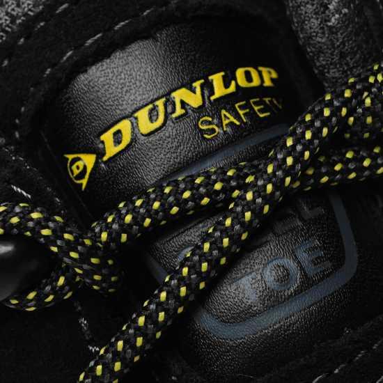 Dunlop Мъжки Работни Обувки Waterproof Hiker Mens Safety Boots Black Мъжки боти и ботуши