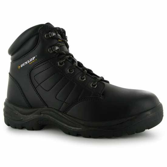 Dunlop Мъжки Работни Обувки Dakota Mens Safety Boots Black Работни обувки