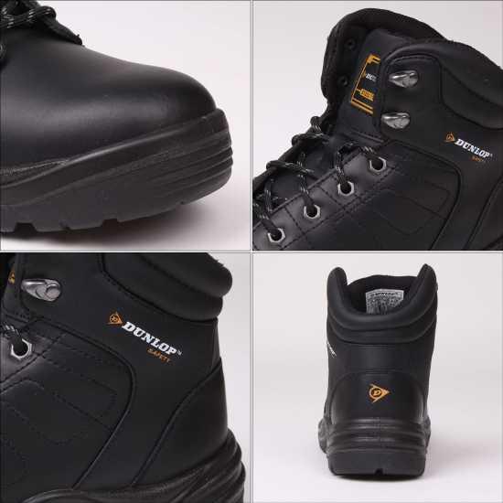 Dunlop Мъжки Работни Обувки Dakota Mens Safety Boots Black Мъжки боти и ботуши