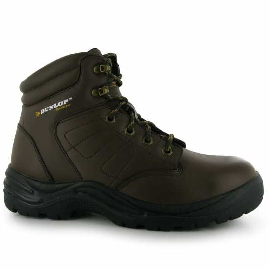 Dunlop Мъжки Работни Обувки Dakota Mens Safety Boots Brown Мъжки боти и ботуши