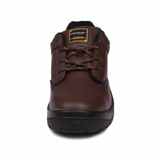 Dunlop Мъжки Работни Обувки Kansas Mens Safety Shoes Brown Работни обувки