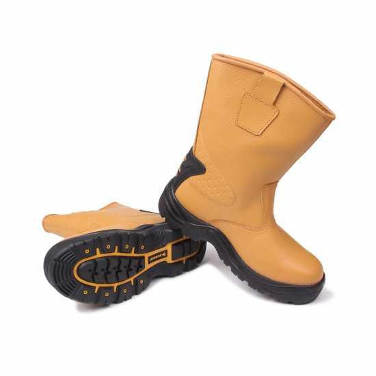 Dunlop Мъжки Работни Обувки Safety Rigger Safety Boots Mens Honey Мъжки боти и ботуши
