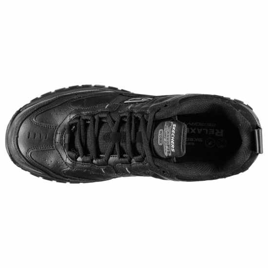Skechers Stride Slip Resistant Work Shoes Mens Black Мъжки боти и ботуши
