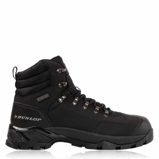 Dunlop Safety Wellies Mens Black Мъжки боти и ботуши