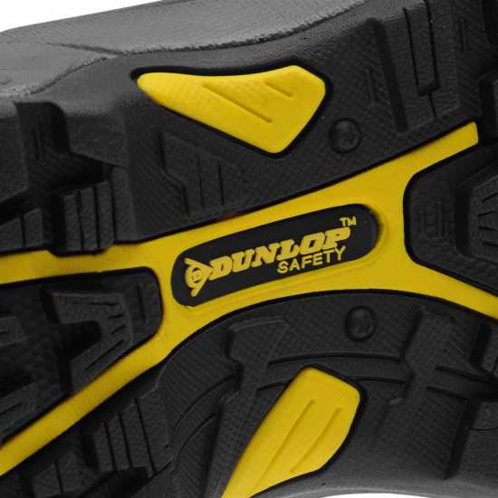 Dunlop Safety On Site Boots Mens Black Работни обувки