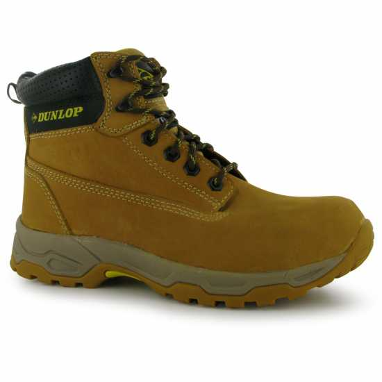 Dunlop Safety On Site Boots Mens Honey Работни обувки