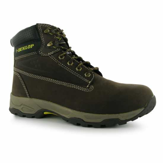 Dunlop Safety On Site Boots Mens Brown Мъжки боти и ботуши