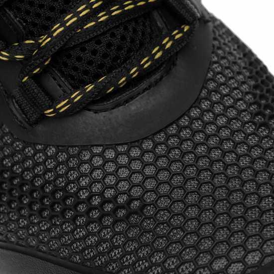 Dunlop Мъжки Работни Обувки Maine Mens Safety Shoes Black Мъжки боти и ботуши
