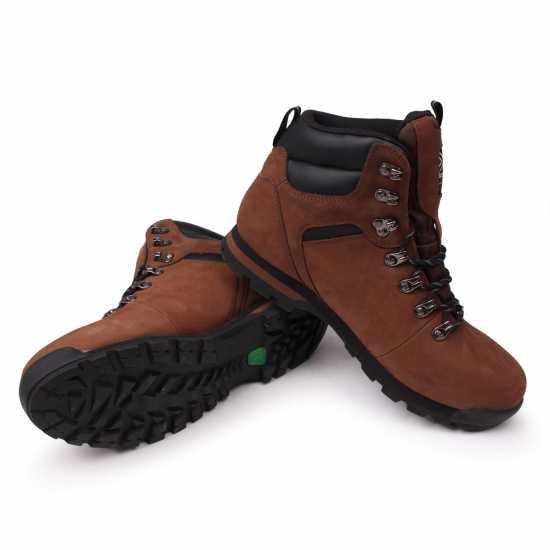 c12b93afc7f Karrimor Мъжки Туристически Обувки Ksb Kinder Mens Walking Boots Brown  Мъжки туристически обувки