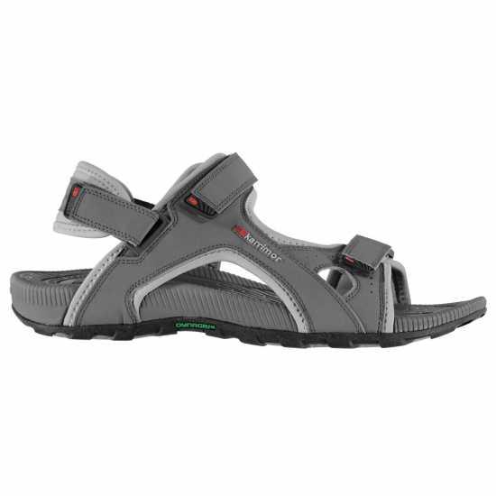 Karrimor Мъжки Сандали Antibes Mens Sandals Charcoal Мъжки сандали и джапанки